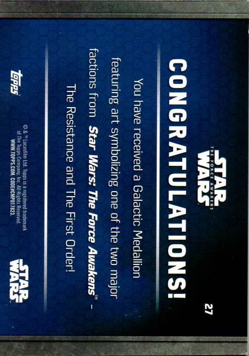 2016-Star-Wars-The-Force-Awakens-Series-Two-Insert-Singles-Pick-Your-Cards miniature 91