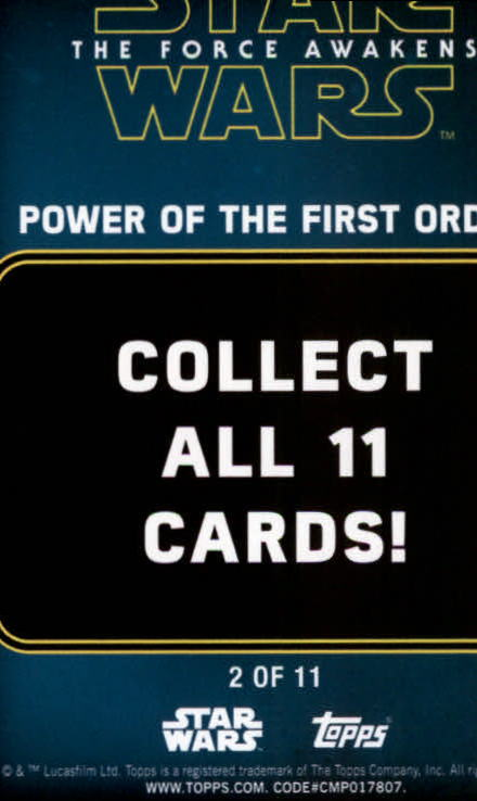 2016-Star-Wars-The-Force-Awakens-Series-Two-Insert-Singles-Pick-Your-Cards miniature 95