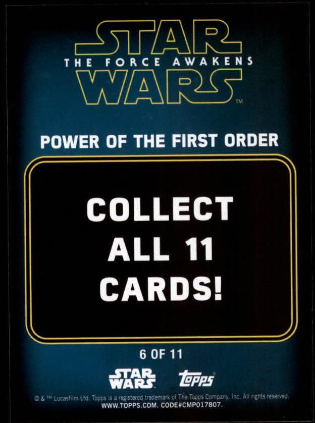 2016-Star-Wars-The-Force-Awakens-Series-Two-Insert-Singles-Pick-Your-Cards miniature 99