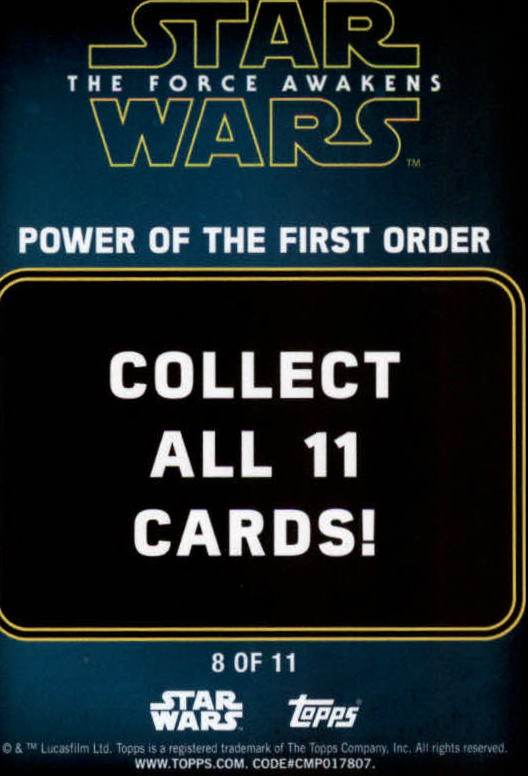 2016-Star-Wars-The-Force-Awakens-Series-Two-Insert-Singles-Pick-Your-Cards miniature 103
