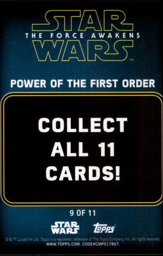 2016-Star-Wars-The-Force-Awakens-Series-Two-Insert-Singles-Pick-Your-Cards miniature 105