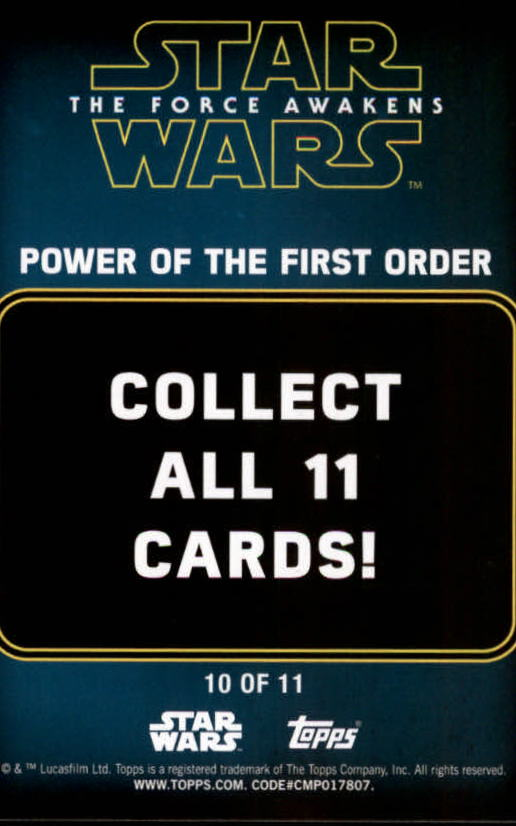 2016-Star-Wars-The-Force-Awakens-Series-Two-Insert-Singles-Pick-Your-Cards miniature 107