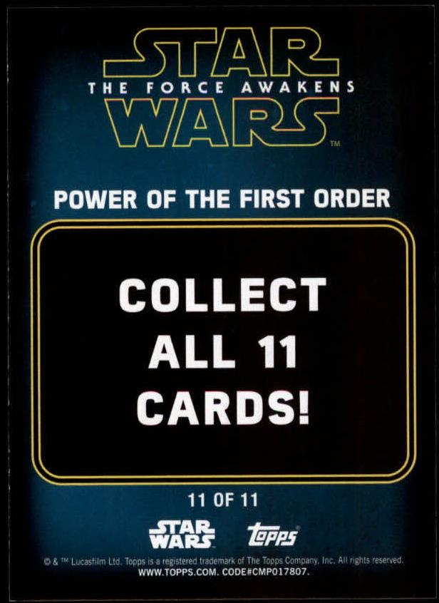 2016-Star-Wars-The-Force-Awakens-Series-Two-Insert-Singles-Pick-Your-Cards miniature 109
