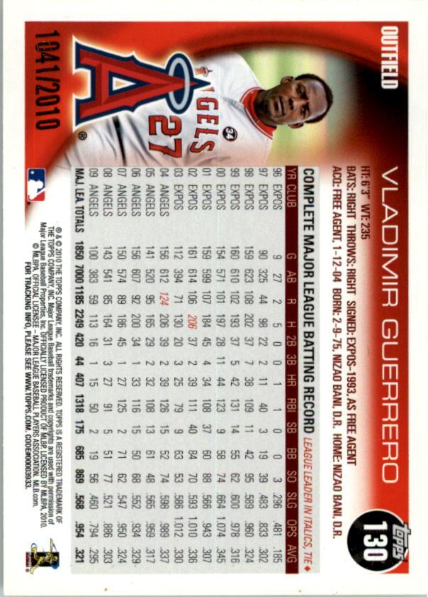 2010-Topps-Baseball-Gold-Border-Singles-Pick-Your-Cards thumbnail 17