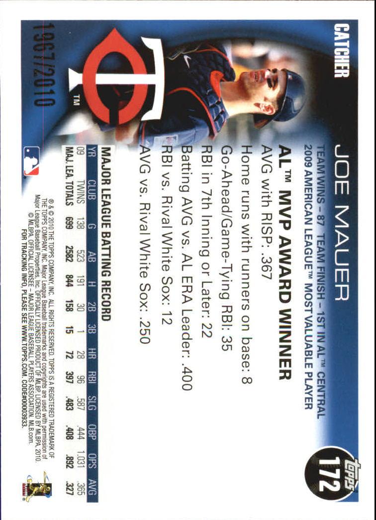 2010-Topps-Baseball-Gold-Border-Singles-Pick-Your-Cards thumbnail 21