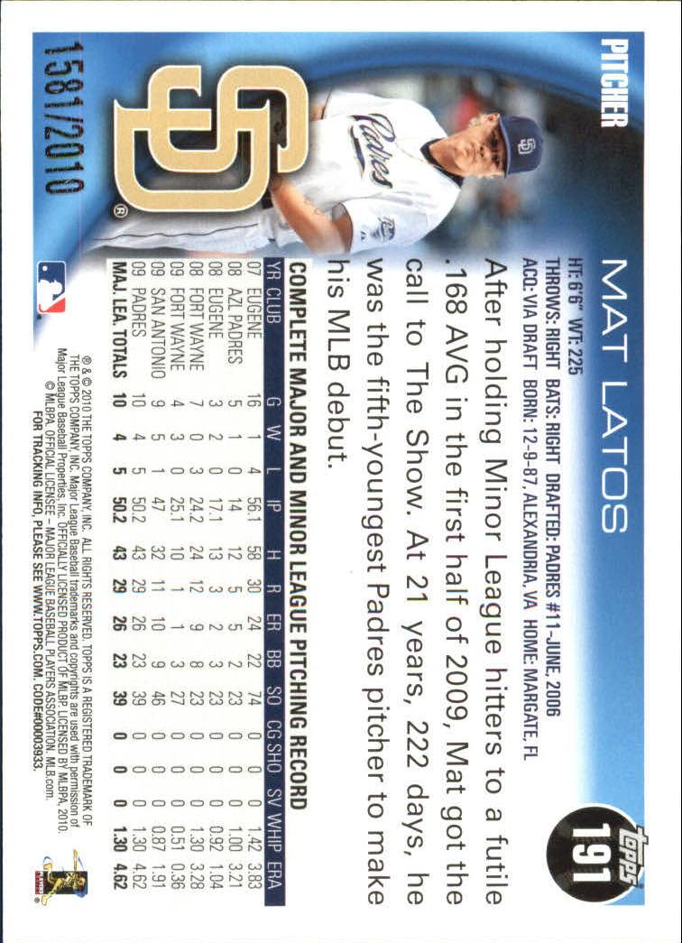 2010-Topps-Baseball-Gold-Border-Singles-Pick-Your-Cards thumbnail 23