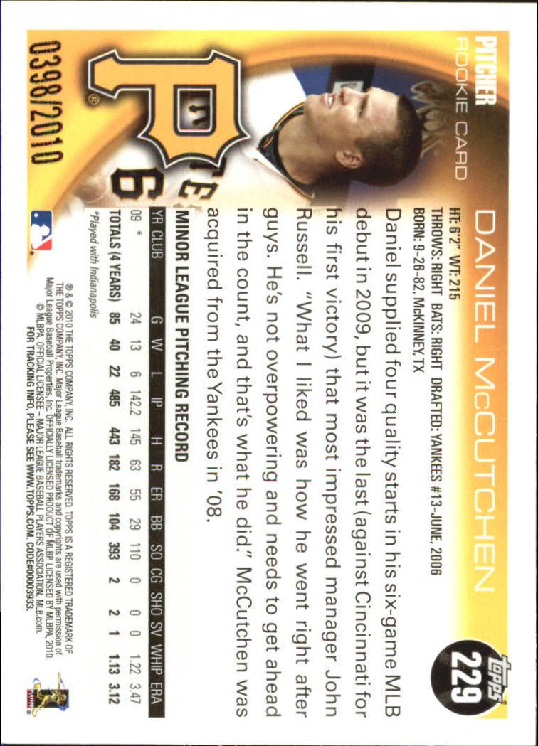 2010-Topps-Baseball-Gold-Border-Singles-Pick-Your-Cards thumbnail 27