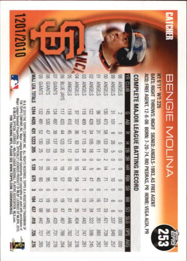 2010-Topps-Baseball-Gold-Border-Singles-Pick-Your-Cards thumbnail 29