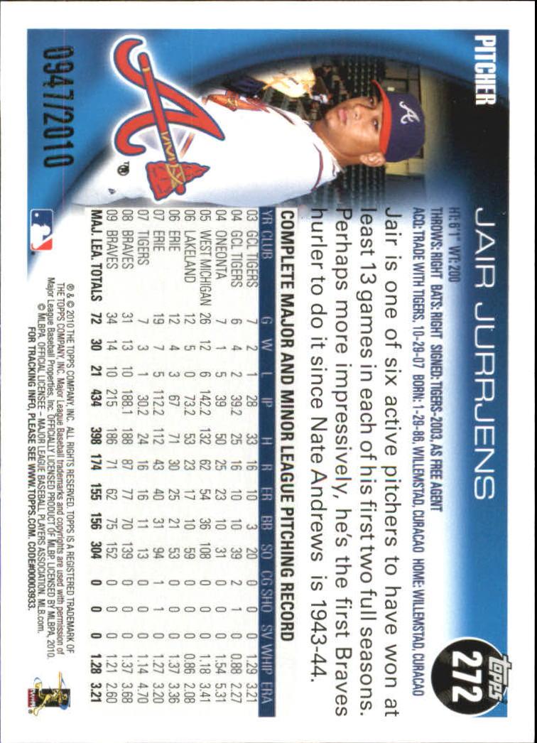 2010-Topps-Baseball-Gold-Border-Singles-Pick-Your-Cards thumbnail 33