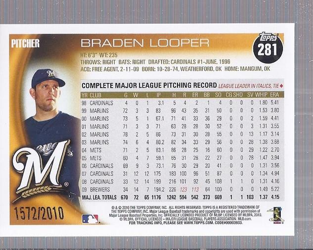 2010-Topps-Baseball-Gold-Border-Singles-Pick-Your-Cards thumbnail 35