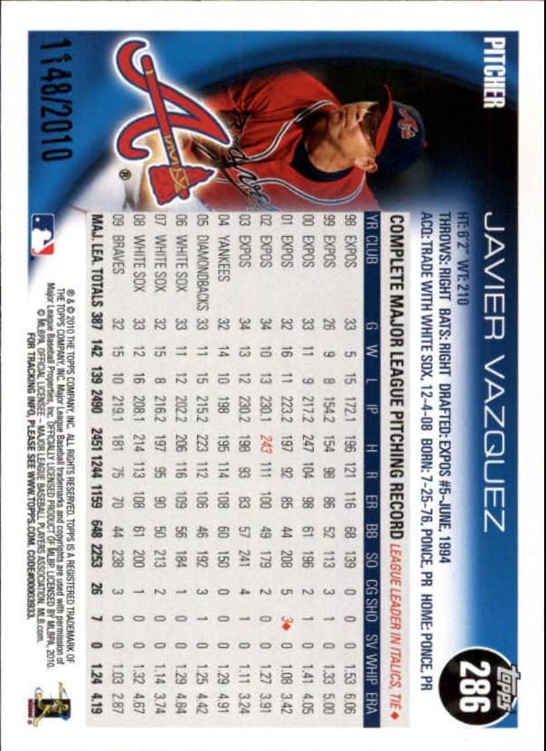 2010-Topps-Baseball-Gold-Border-Singles-Pick-Your-Cards thumbnail 37