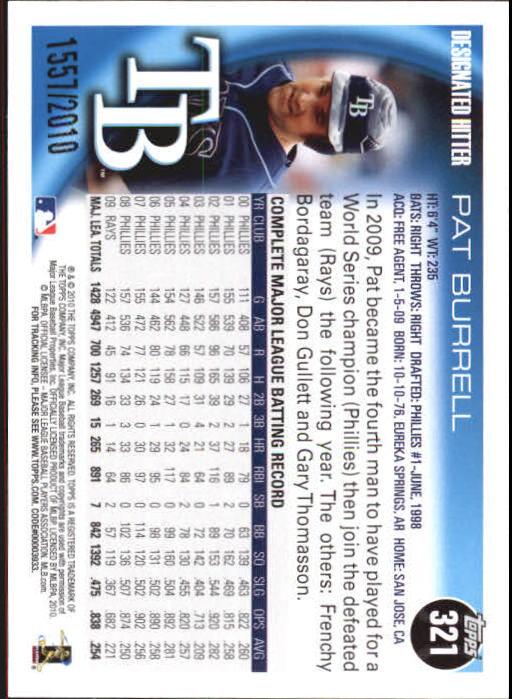 2010-Topps-Baseball-Gold-Border-Singles-Pick-Your-Cards thumbnail 43