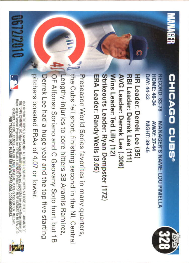 2010-Topps-Baseball-Gold-Border-Singles-Pick-Your-Cards thumbnail 47