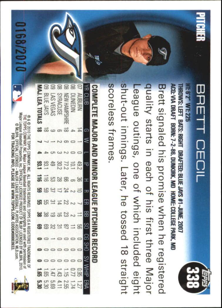 2010-Topps-Baseball-Gold-Border-Singles-Pick-Your-Cards thumbnail 49