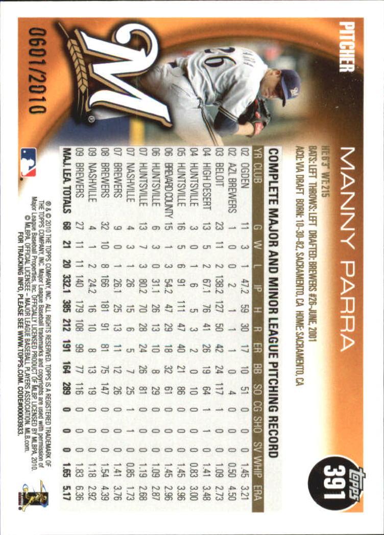 2010-Topps-Baseball-Gold-Border-Singles-Pick-Your-Cards thumbnail 51