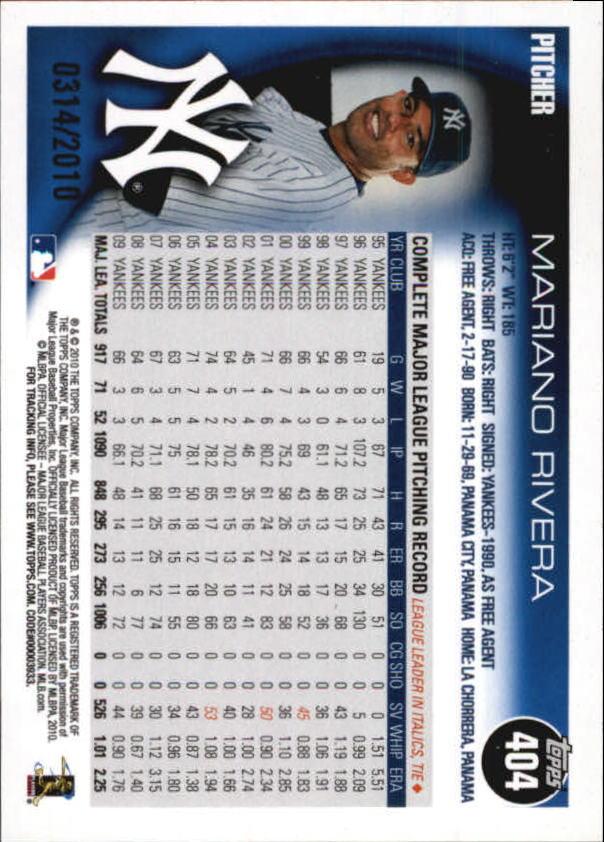 2010-Topps-Baseball-Gold-Border-Singles-Pick-Your-Cards thumbnail 53