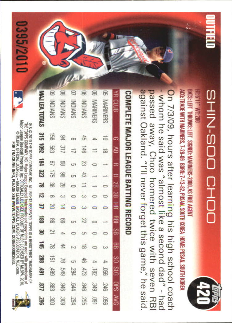 2010-Topps-Baseball-Gold-Border-Singles-Pick-Your-Cards thumbnail 57