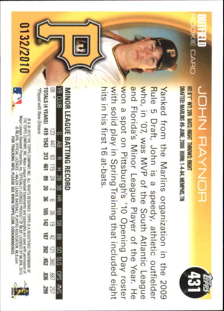 2010-Topps-Baseball-Gold-Border-Singles-Pick-Your-Cards thumbnail 61