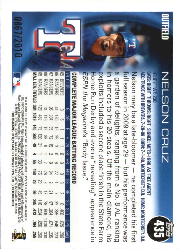 2010-Topps-Baseball-Gold-Border-Singles-Pick-Your-Cards thumbnail 63