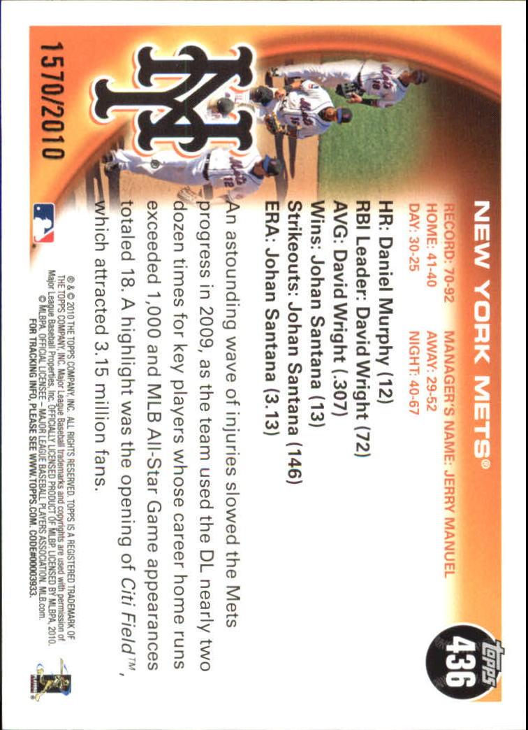 2010-Topps-Baseball-Gold-Border-Singles-Pick-Your-Cards thumbnail 65