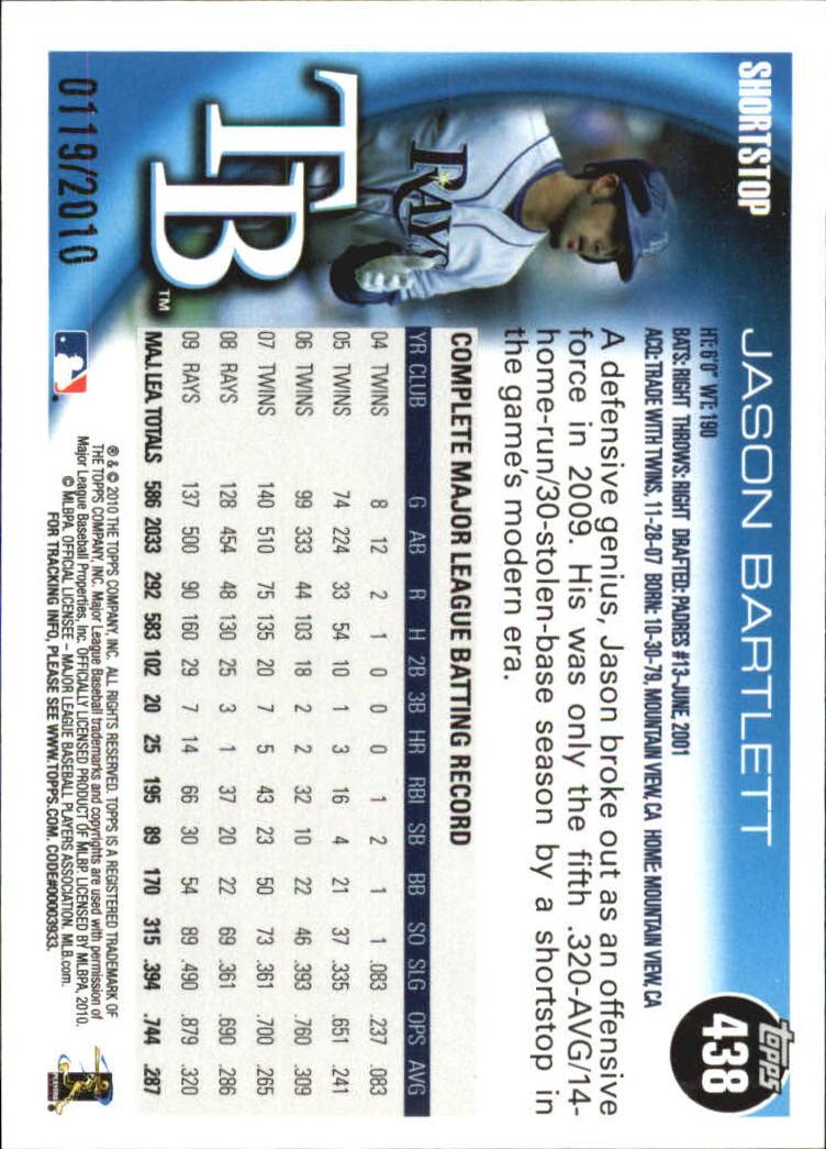 2010-Topps-Baseball-Gold-Border-Singles-Pick-Your-Cards thumbnail 67