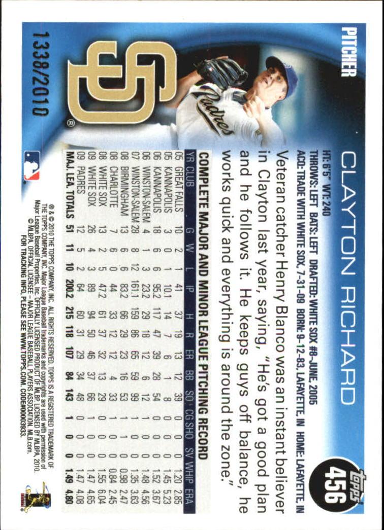 2010-Topps-Baseball-Gold-Border-Singles-Pick-Your-Cards thumbnail 71