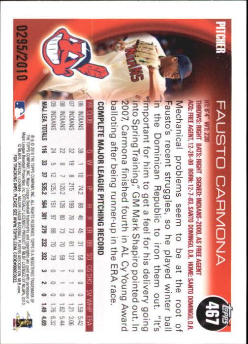 2010-Topps-Baseball-Gold-Border-Singles-Pick-Your-Cards thumbnail 75