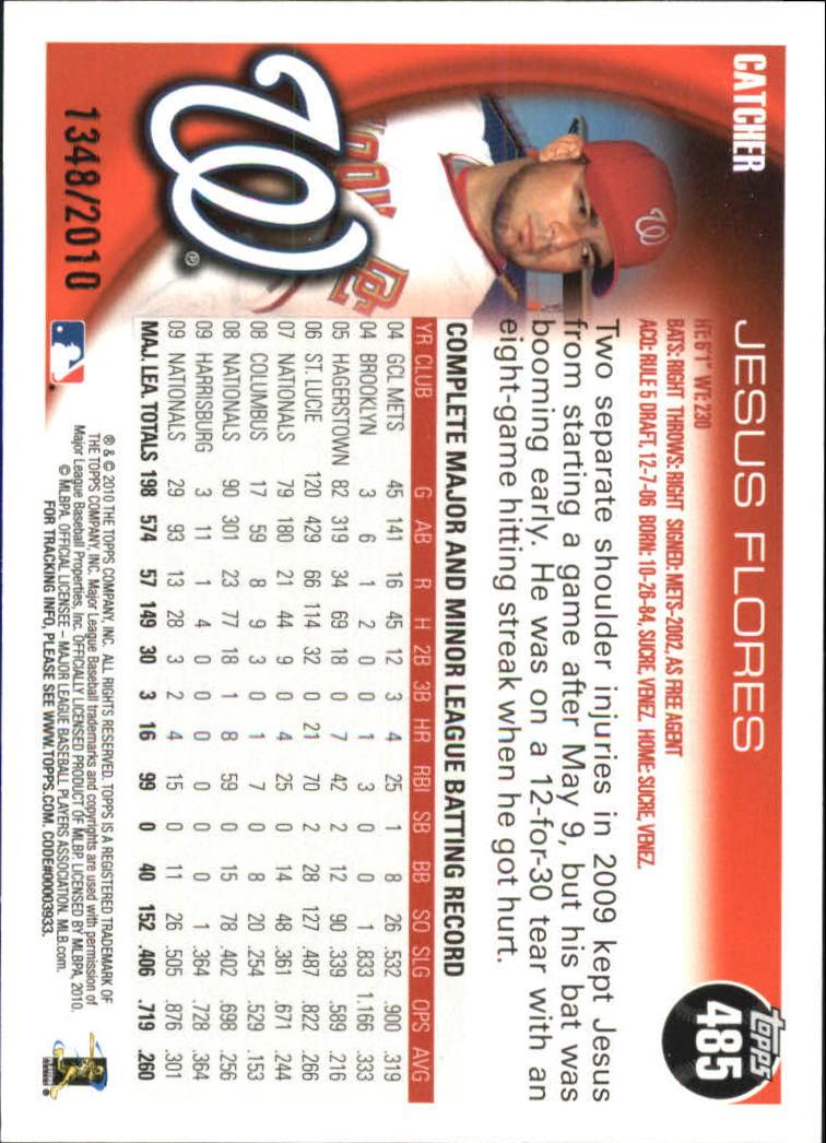 2010-Topps-Baseball-Gold-Border-Singles-Pick-Your-Cards thumbnail 83