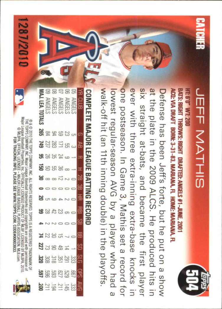2010-Topps-Baseball-Gold-Border-Singles-Pick-Your-Cards thumbnail 87