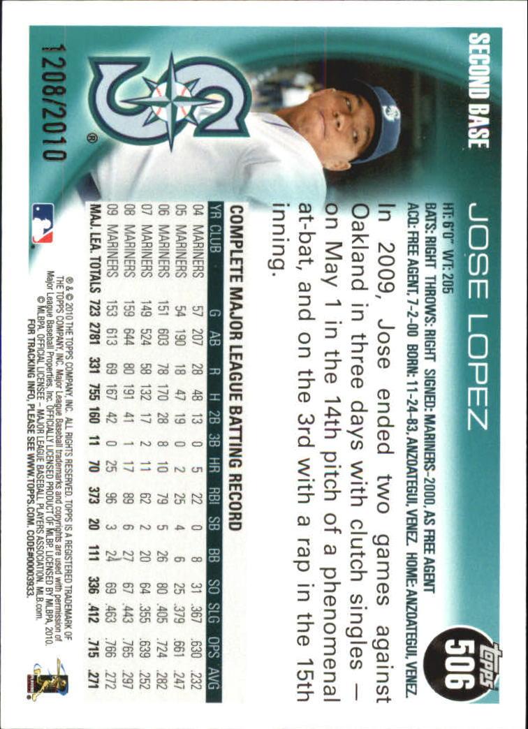 2010-Topps-Baseball-Gold-Border-Singles-Pick-Your-Cards thumbnail 89