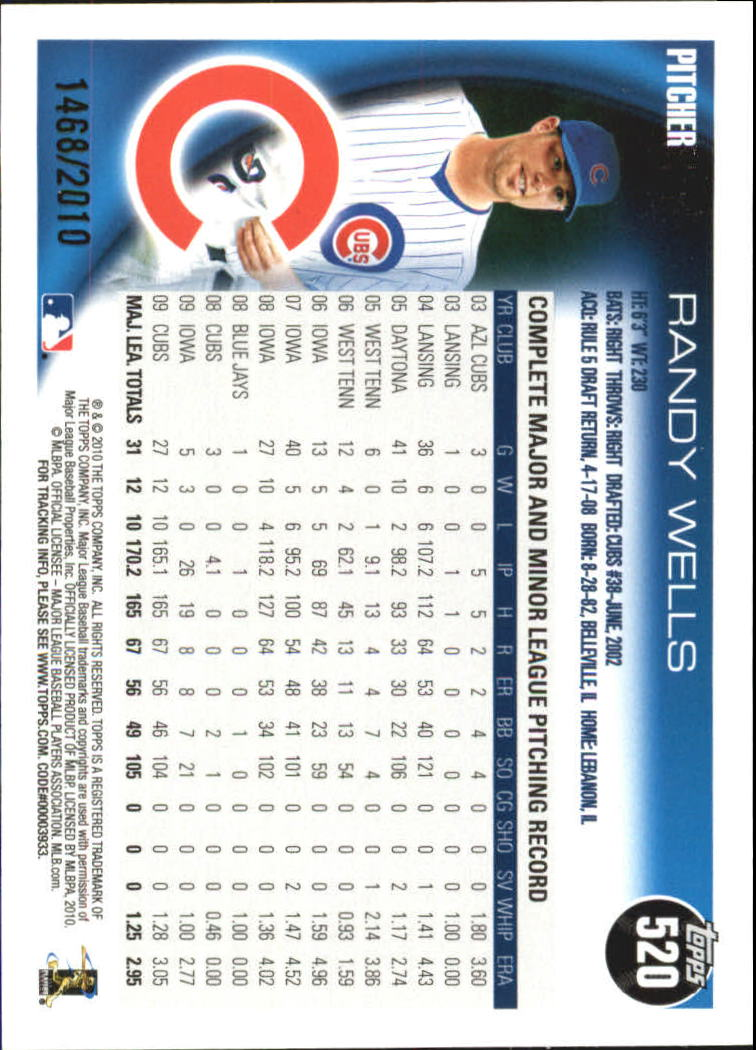 2010-Topps-Baseball-Gold-Border-Singles-Pick-Your-Cards thumbnail 97