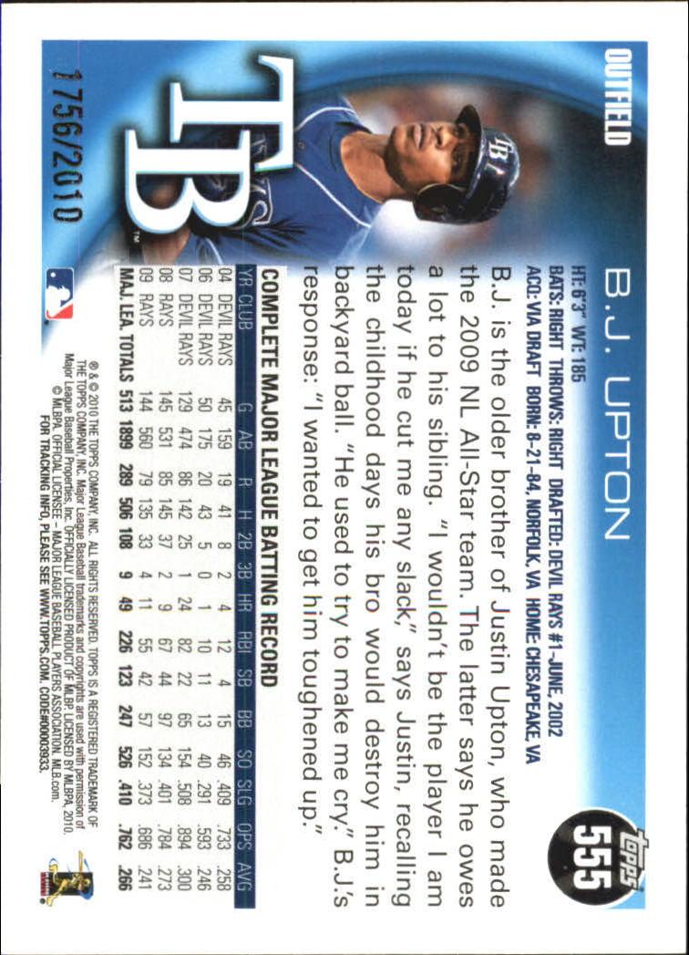 2010-Topps-Baseball-Gold-Border-Singles-Pick-Your-Cards thumbnail 101