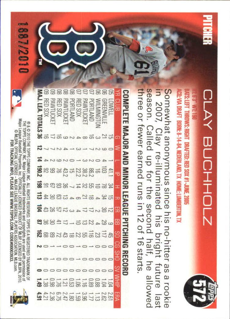 2010-Topps-Baseball-Gold-Border-Singles-Pick-Your-Cards thumbnail 105