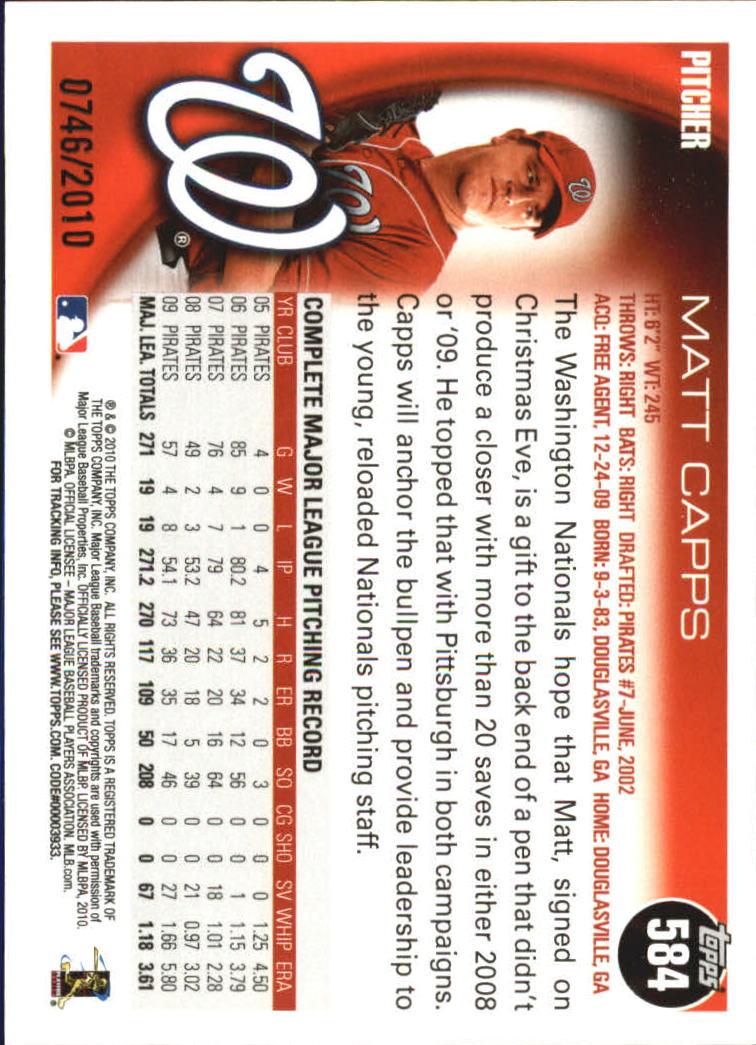 2010-Topps-Baseball-Gold-Border-Singles-Pick-Your-Cards thumbnail 107