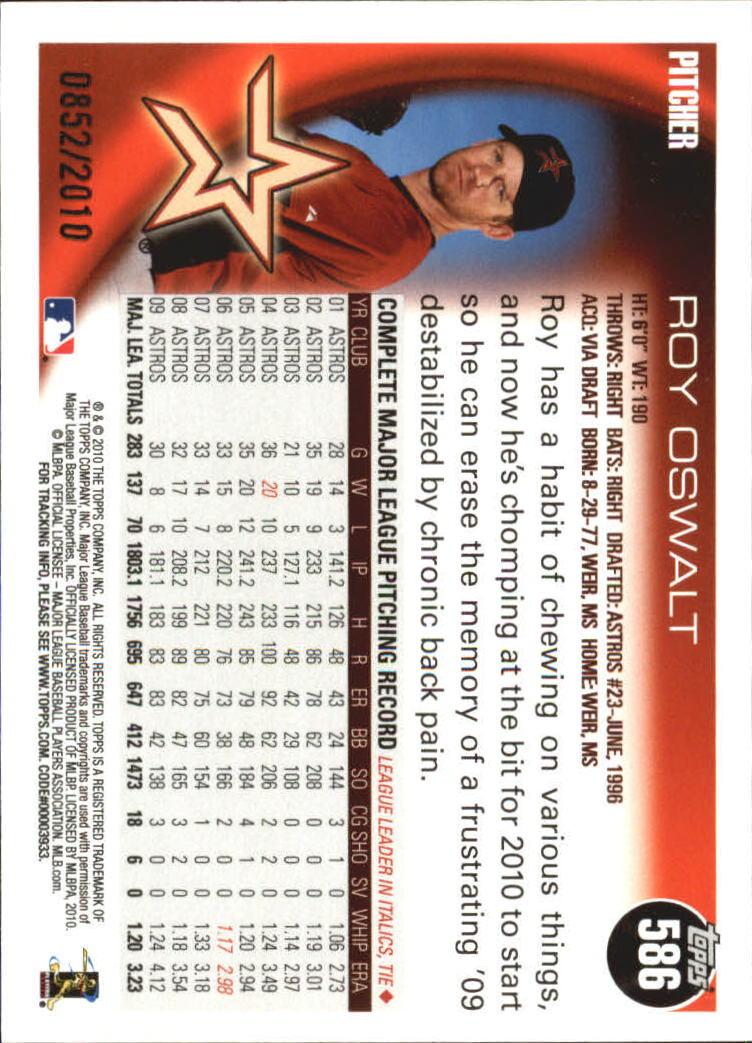 2010-Topps-Baseball-Gold-Border-Singles-Pick-Your-Cards thumbnail 109
