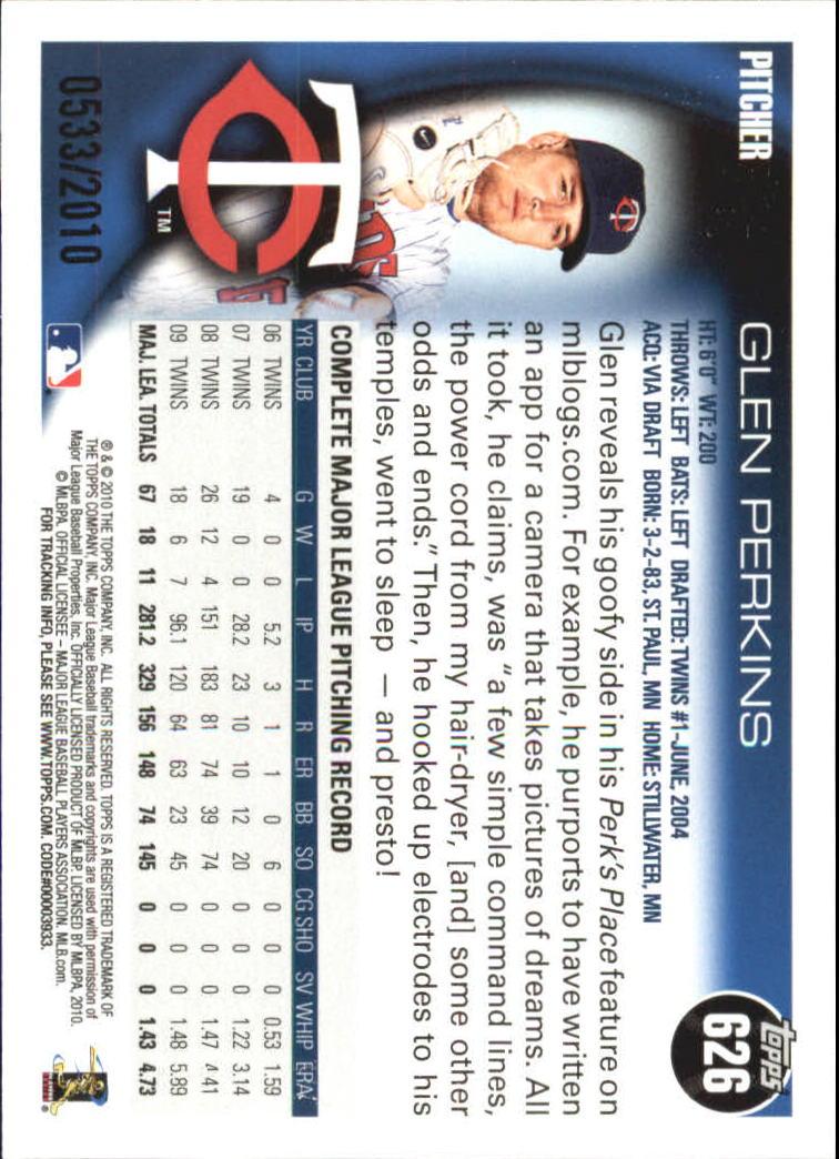 2010-Topps-Baseball-Gold-Border-Singles-Pick-Your-Cards thumbnail 125