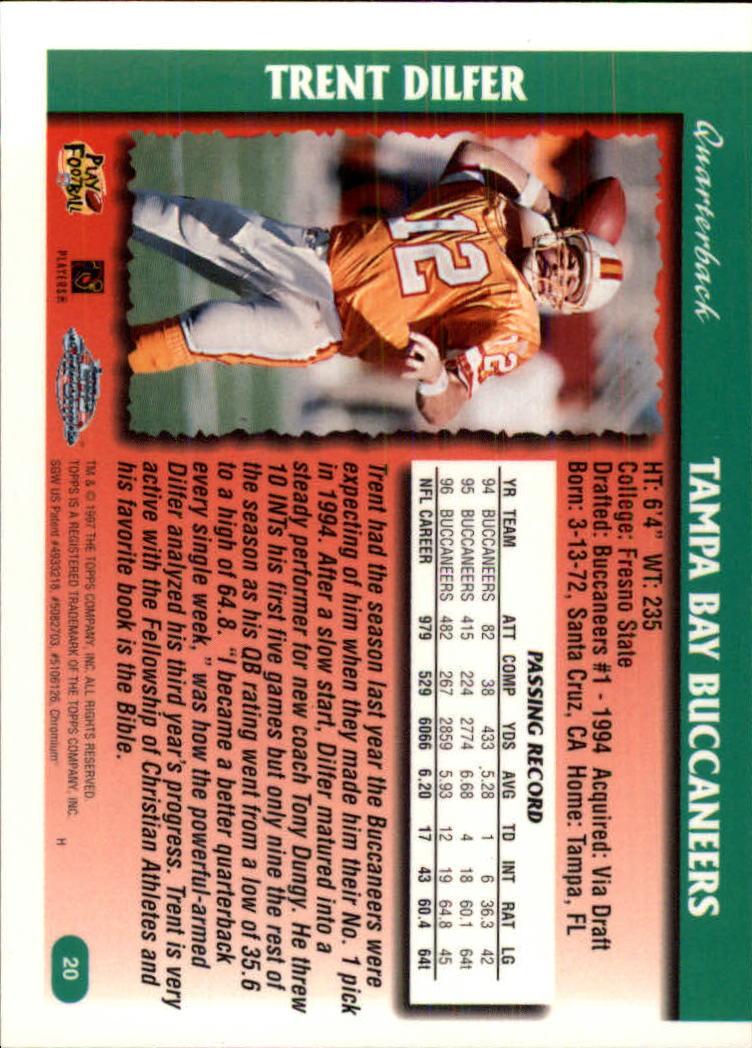 1997-Topps-Chrome-Football-Base-Singles-Pick-Your-Cards thumbnail 7