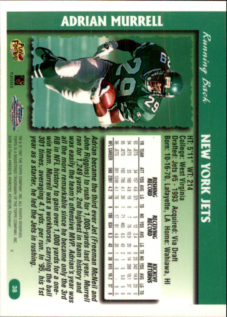 1997-Topps-Chrome-Football-Base-Singles-Pick-Your-Cards thumbnail 15