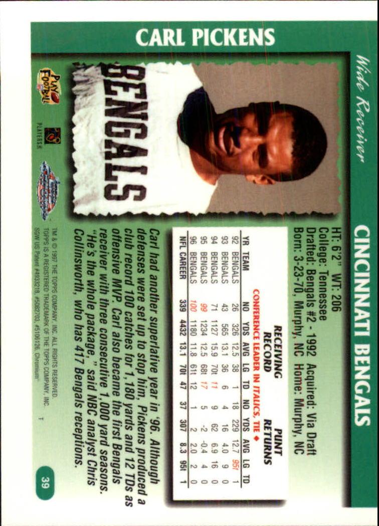 1997-Topps-Chrome-Football-Base-Singles-Pick-Your-Cards thumbnail 17