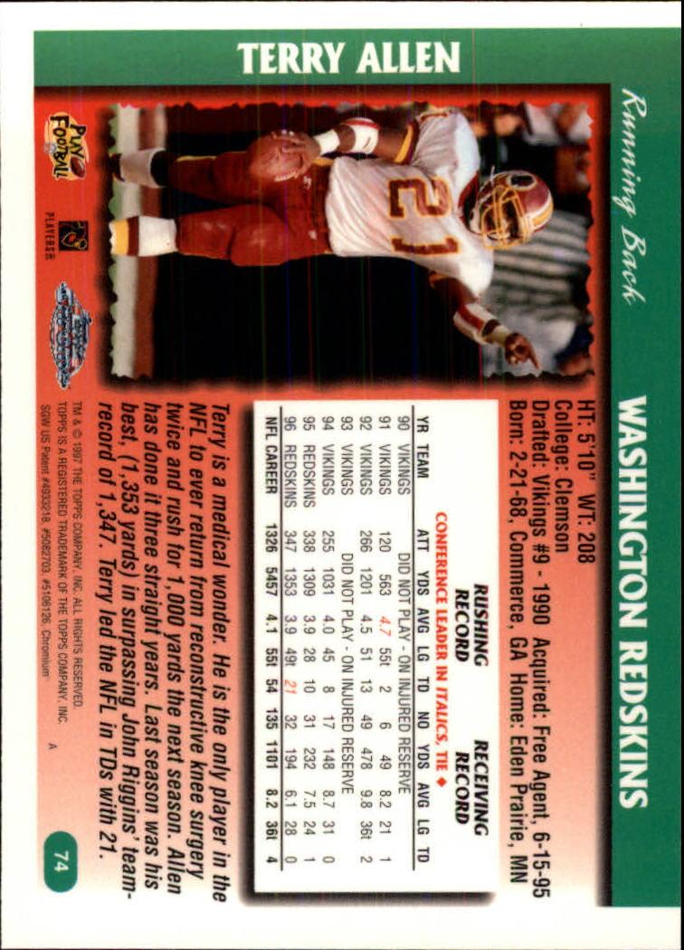 1997-Topps-Chrome-Football-Base-Singles-Pick-Your-Cards thumbnail 43
