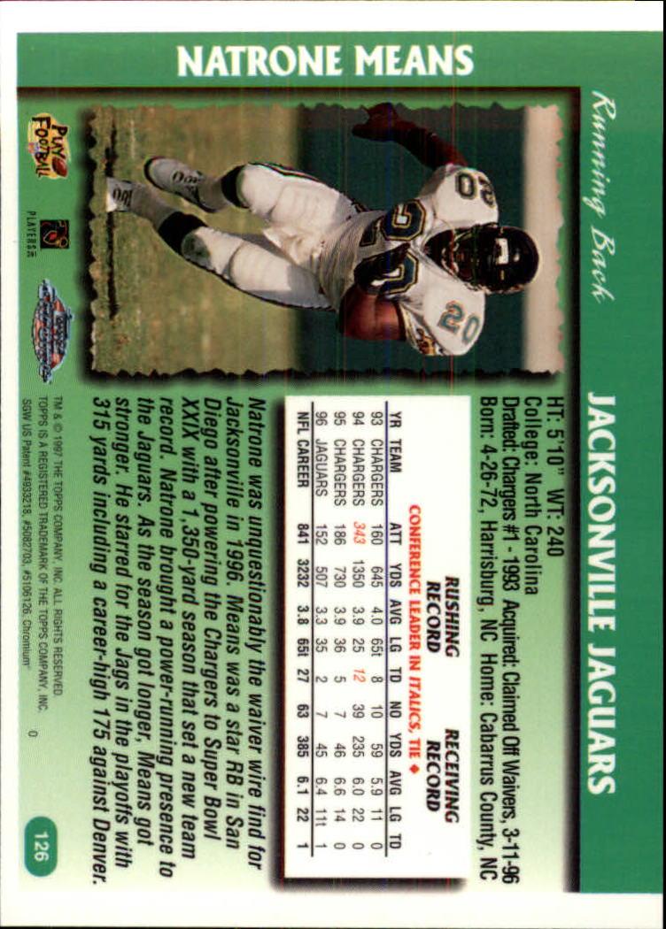 1997-Topps-Chrome-Football-Base-Singles-Pick-Your-Cards thumbnail 83