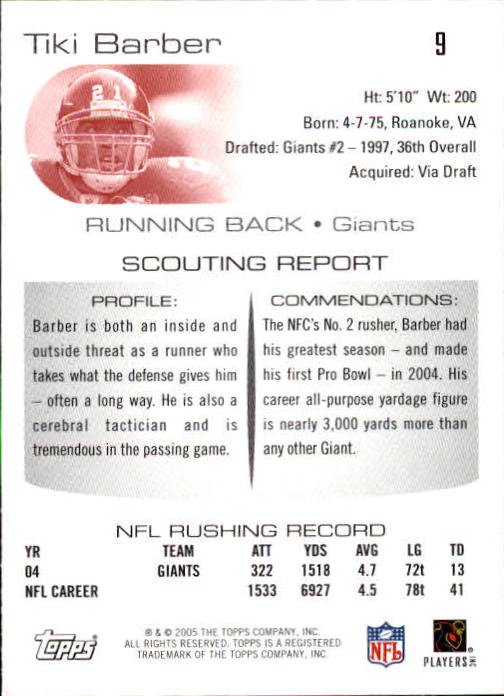 2005-Topps-Draft-Picks-and-Prospects-Football-Base-Singles-Pick-Your-Cards thumbnail 5