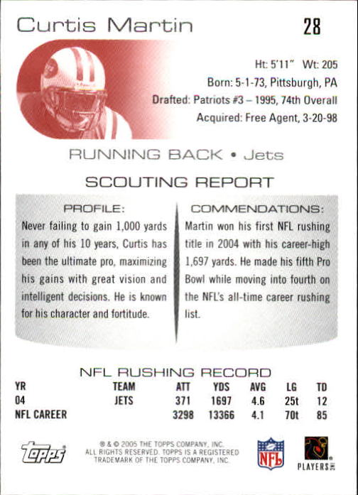 2005-Topps-Draft-Picks-and-Prospects-Football-Base-Singles-Pick-Your-Cards thumbnail 23