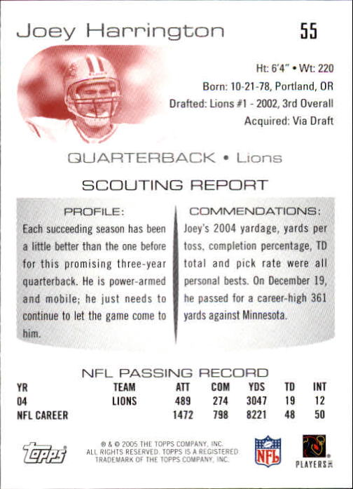 2005-Topps-Draft-Picks-and-Prospects-Football-Base-Singles-Pick-Your-Cards thumbnail 41
