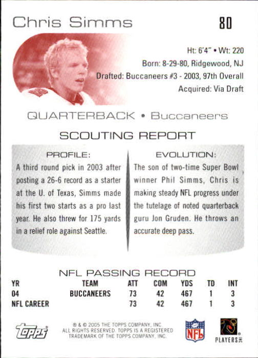 2005-Topps-Draft-Picks-and-Prospects-Football-Base-Singles-Pick-Your-Cards thumbnail 57