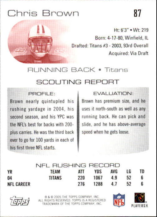 2005-Topps-Draft-Picks-and-Prospects-Football-Base-Singles-Pick-Your-Cards thumbnail 61