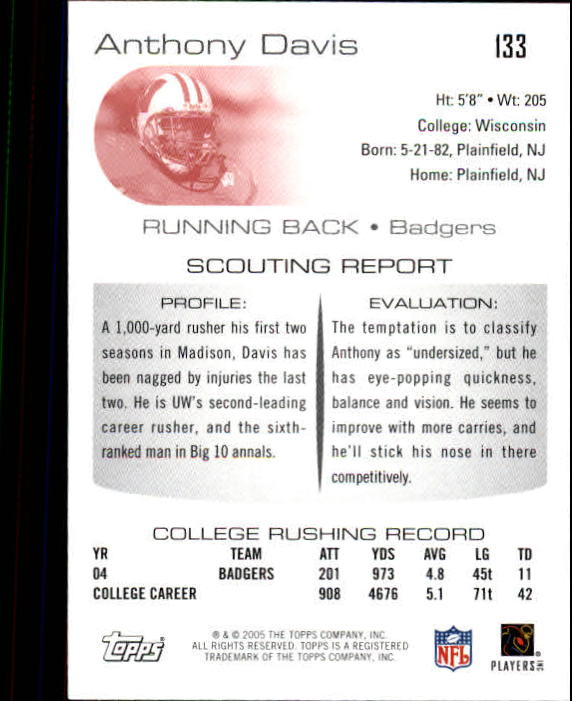 2005-Topps-Draft-Picks-and-Prospects-Football-Base-Singles-Pick-Your-Cards thumbnail 85
