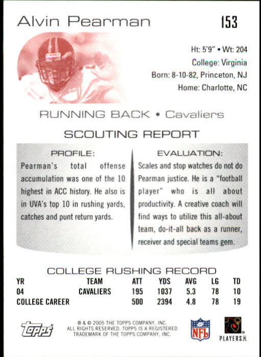 2005-Topps-Draft-Picks-and-Prospects-Football-Base-Singles-Pick-Your-Cards thumbnail 95