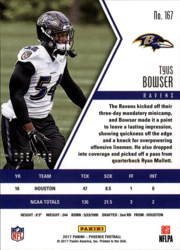 2017-Panini-Phoenix-Football-Red-Parallel-Singles-Pick-Your-Cards thumbnail 33