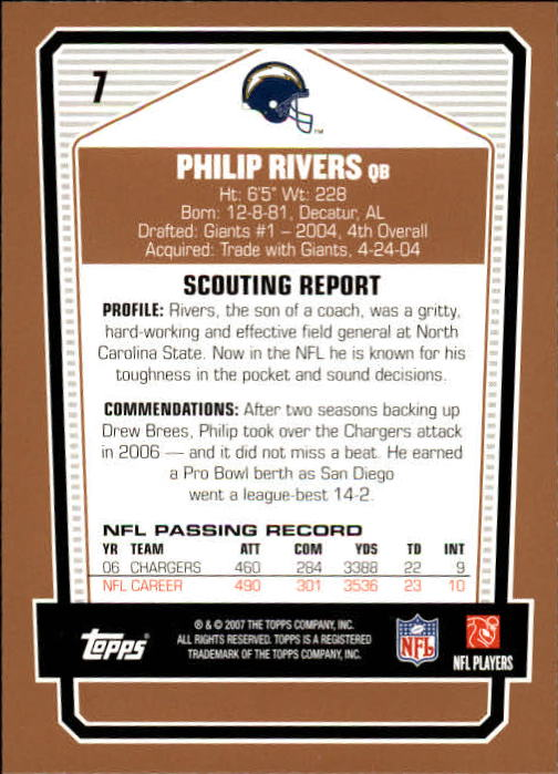 2007-Topps-Draft-Picks-and-Prospects-Football-Base-Singles-Pick-Your-Cards thumbnail 7